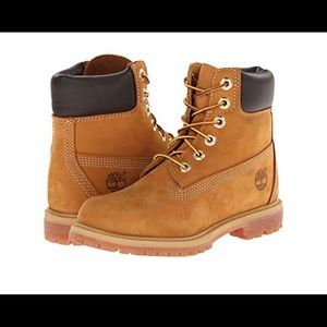 "Timberland 6"" premium boot size 7.5"